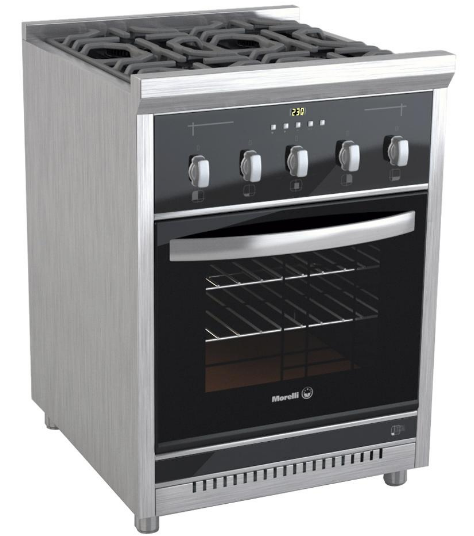 Cocinas morelli 018007s 60 cm acero baratometro - Cocinas murelli ...